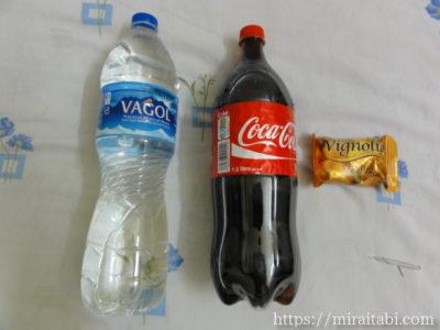 水とコーラと石鹸