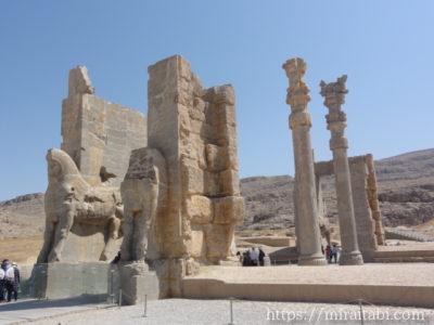 イラン・ペルセポリスの遺跡