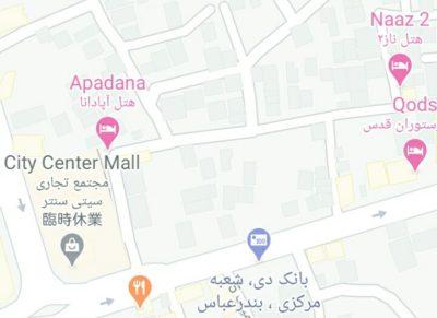 バスターミナルはのホテル地図