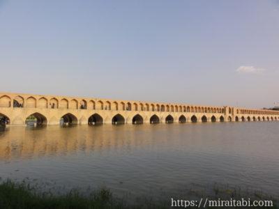 エスファハーンのスィー・オ・セ橋