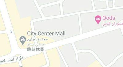 Oods Hotelの地図