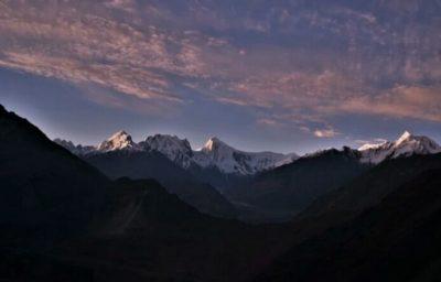 パキスタンの山々