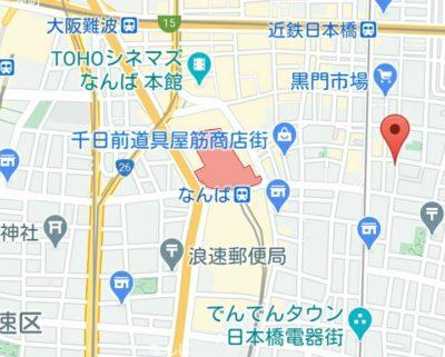 アシアートホテルの地図