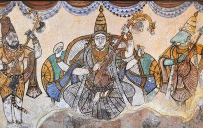 インドの女神サラスヴァティ